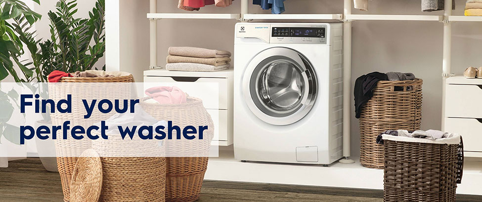 FIND YOUR PERFECT WASHER