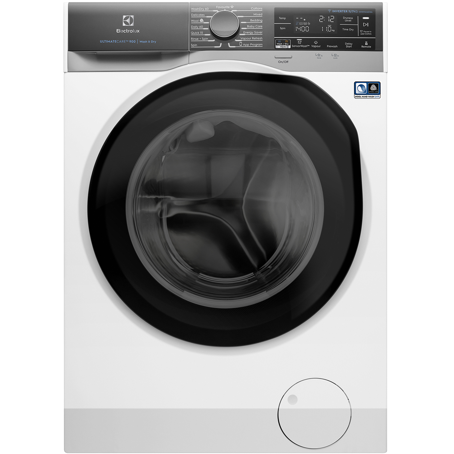 11/7kg Washer Dryer with Vapour Care